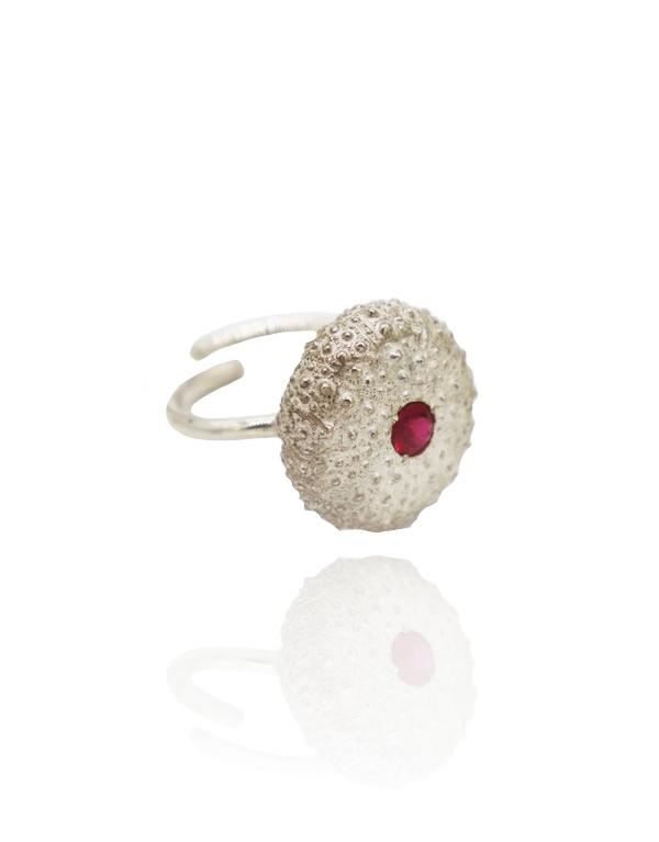 anel-ouriço-pedra-rosa-pn1