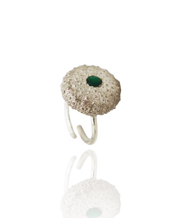 anel-ouriço-pedra-verde-pn-1