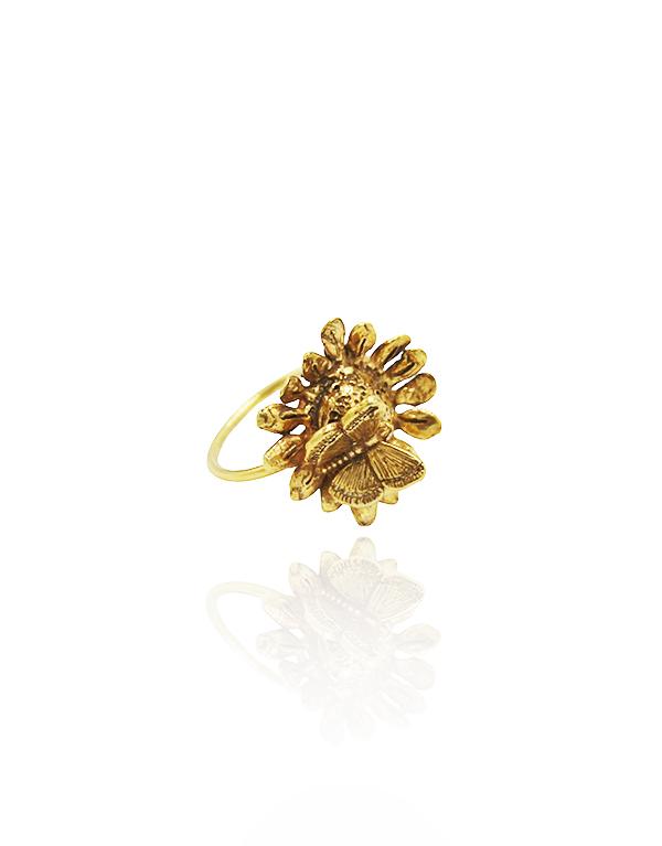 anel-girassol-mini-e-borboleta